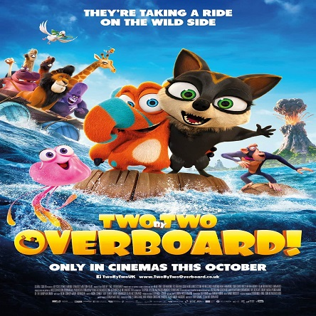 انیمیشن جامونده ها 2 - Two by Two: Overboard! 2020
