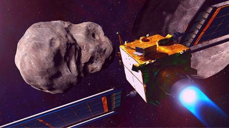 ناسا Nasa میخواهد عمدا یک فضاپیما را به یک سیارک بکوبد!