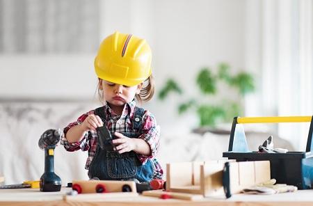 تربیت کودک سخت کوش و باپشتکار hardworking child