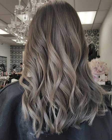 فرمول رنگ موی دودی زیتونی Smoky olive hair color
