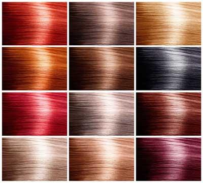 انتخاب رنگ مو متناسب با چهره hair color