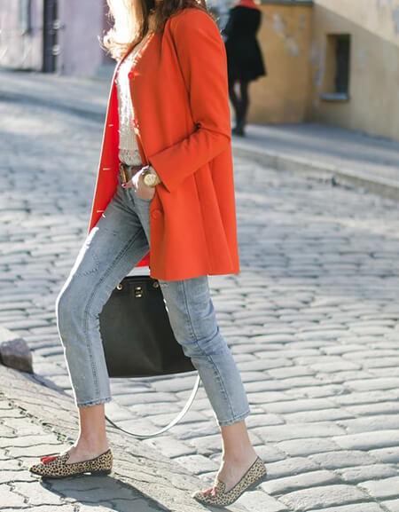 ست های مانتو نارنجی orange coat set