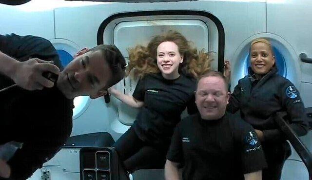 بازگشت مسافران اسپیس ایکس به زمین