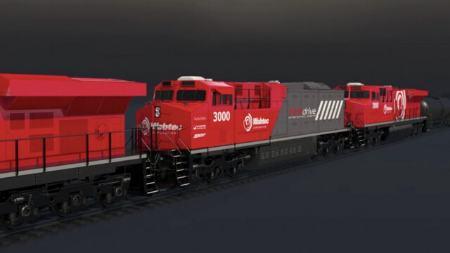فلکسدرایو FLXdrive نخستین قطار باربری برقی دنیا
