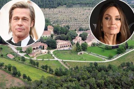 دعوای برد پیت و آنجلینا جولی بر سر خانه ۱۶۲ میلیون دلاری